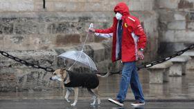 Mañana, precipitaciones fuertes y persistentes en Galicia, Asturias y León.