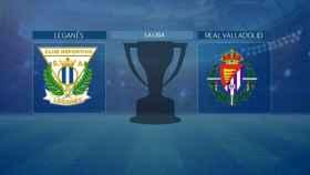 Leganés - Real Valladolid de La Liga