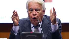 Felipe González, expresidente del Gobierno.