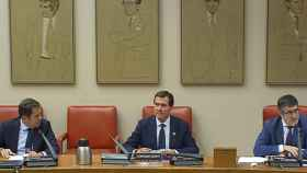 Garamendi y Cuerva piden al Congreso no usar los fondos de la UE para gastar más