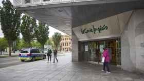 Una de las entradas a un El Corte Inglés de Madrid.