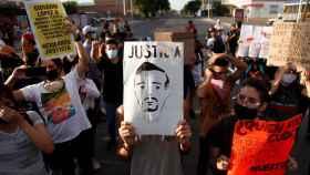 Manifestaciones por la detención y muerte de Giovanni López en México