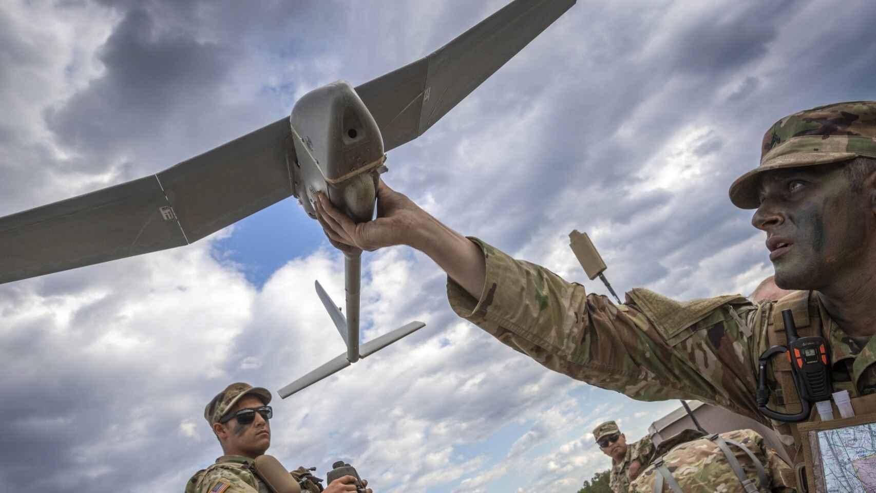 Dron Raven de la Armada de Estados Unidos