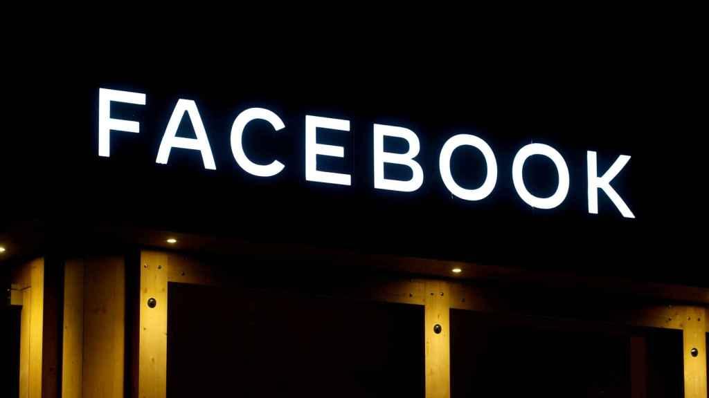 Logo of Facebook, en una imagen de archivo.