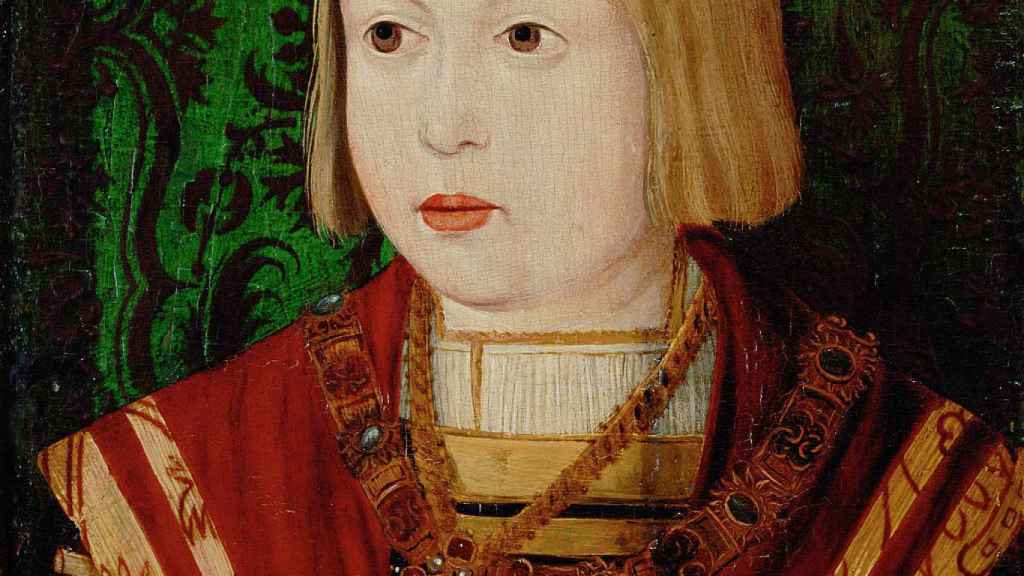 Fernando de Habsburgo de pequeño.