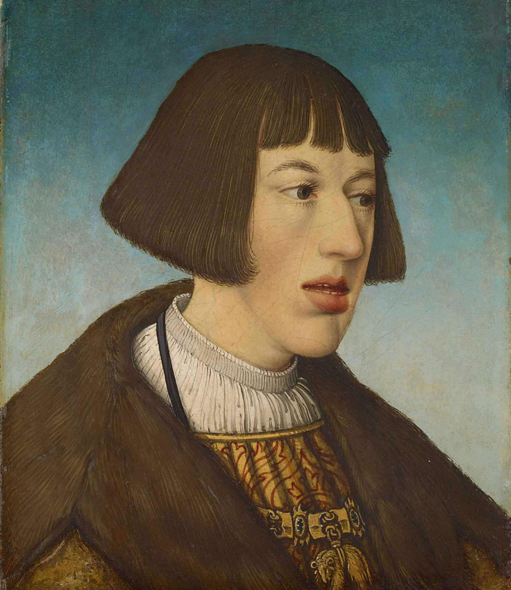 El joven Fernando I en 1521.