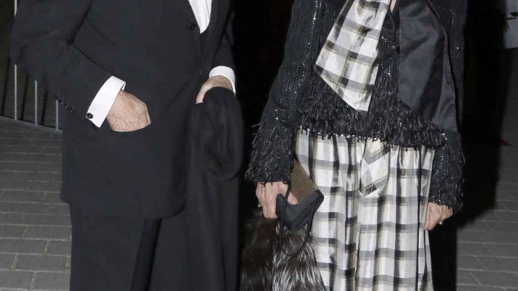 Jaime Peñafiel y su esposa, Carmen Alonso.