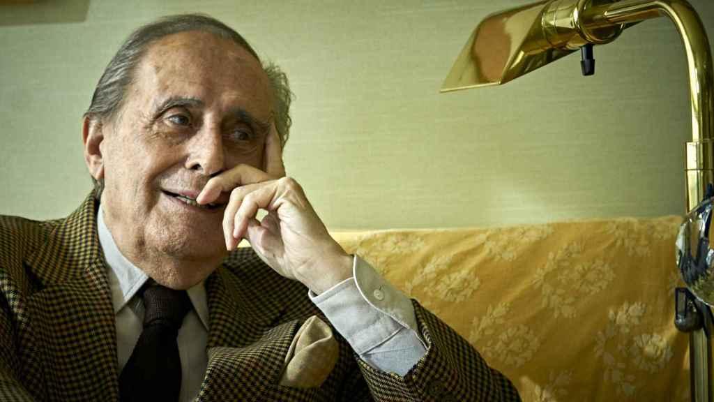 Jaime Peñafiel el día de la presentación de su último libro, 'Anécdotas de oro'.