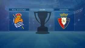 Real Sociedad - Osasuna, partido de La Liga