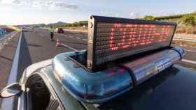 Imagen de un control de tráfico.