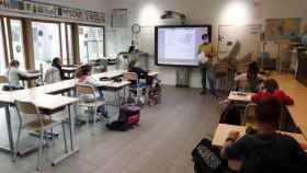 Un colegio en Nimes, al sur de Francia.