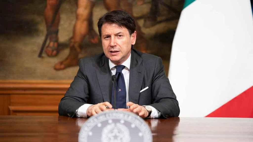 El primer ministro de Italia, Giuseppe Conte, en una imagen de archivo.