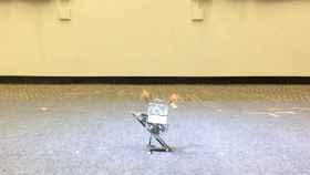 Este robot salta y aterriza como si fuera un canguro