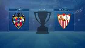 Levante - Sevilla, partido de La Liga