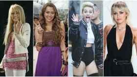 La evolución física de Miley Cyrus en montaje de JALEOS.