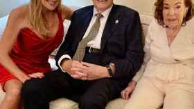 Los padres de Ana Obregón celebraban este sábado su 66 aniversario.