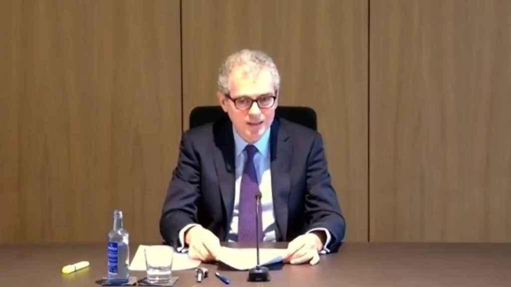 Pablo Isla, presidente de Inditex, en la cumbre de CEOE.