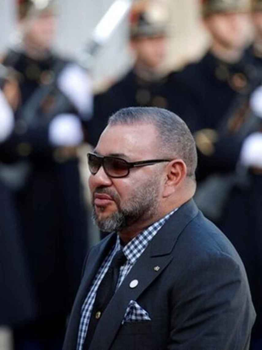 Mohamed VI de Marruecos.