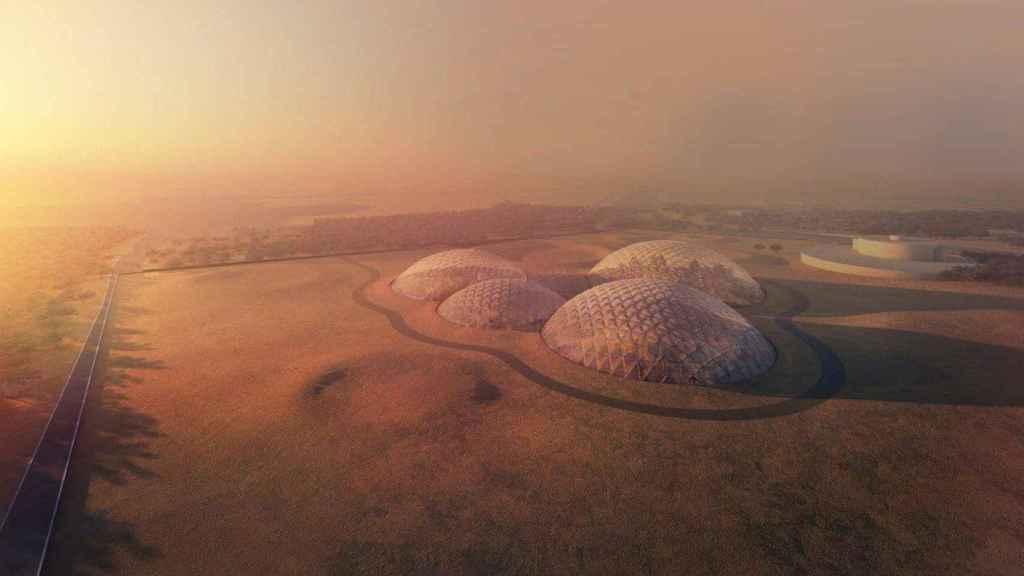 Ciudad en Marte