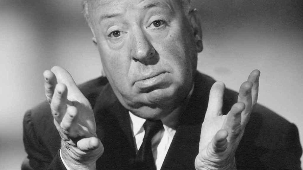 El director Alfred Hitchcock.