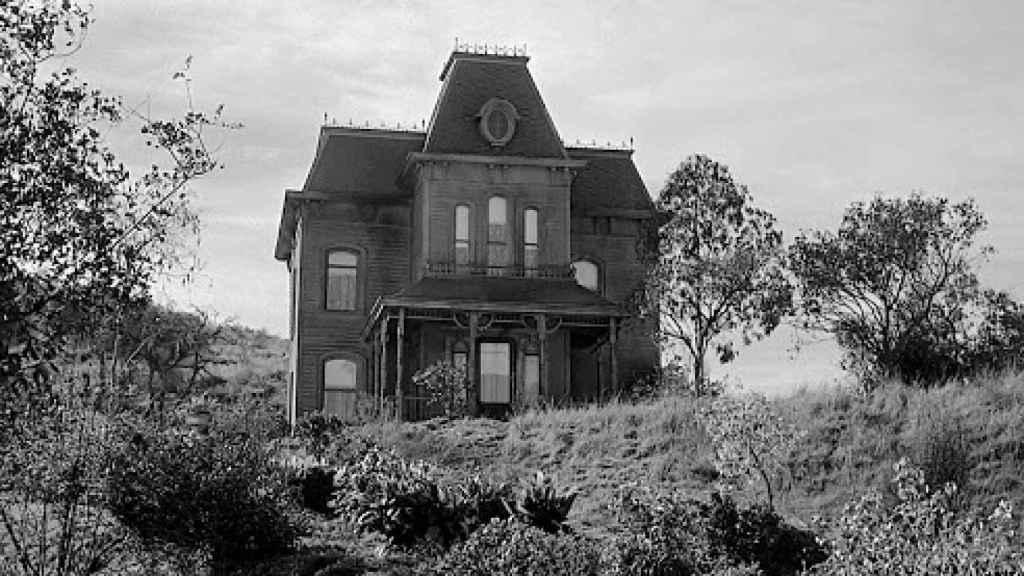 La mítica casa de Psicosis.