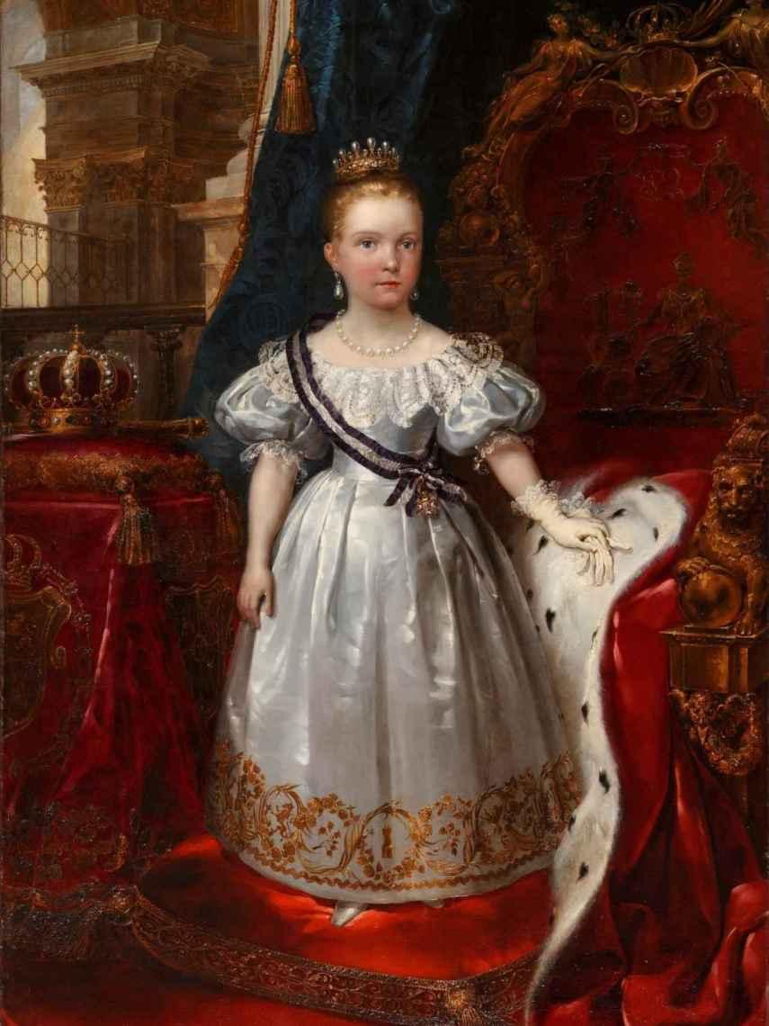 'Isabel II, niña'.