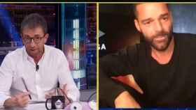 Ricky Martin en 'El Hormiguero'.