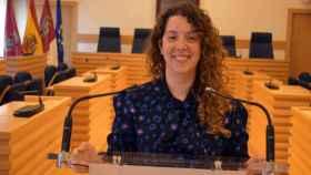 Sara Martínez, portavoz del Ayuntamiento de Ciudad Real