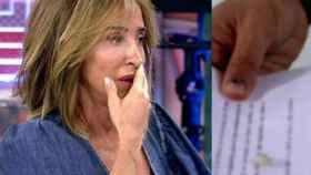 María Patio trata de disimular lo ocurrido tras perder un diente en pleno directo en Sálvame