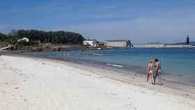 Playa de Vigo. Efe