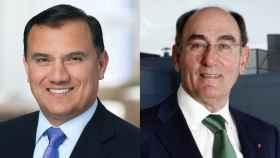 Dennis V. Arriola, CEO de Avangrid e Ignacio Galán, presidente de Iberdrola.