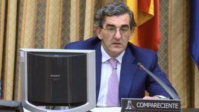 Juan Abarca, en el Congreso.