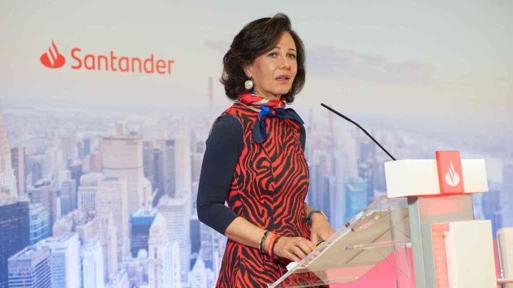 Ana Botin. Presidenta del Banco Santander.