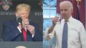 Trump y Biden hacen campaña con su estado de salud