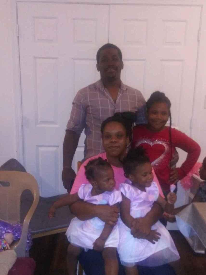 Rayshard Brooks junto a su familia.