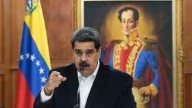 Nicolás Maduro en el Palacio de Miraflores en Caracas.