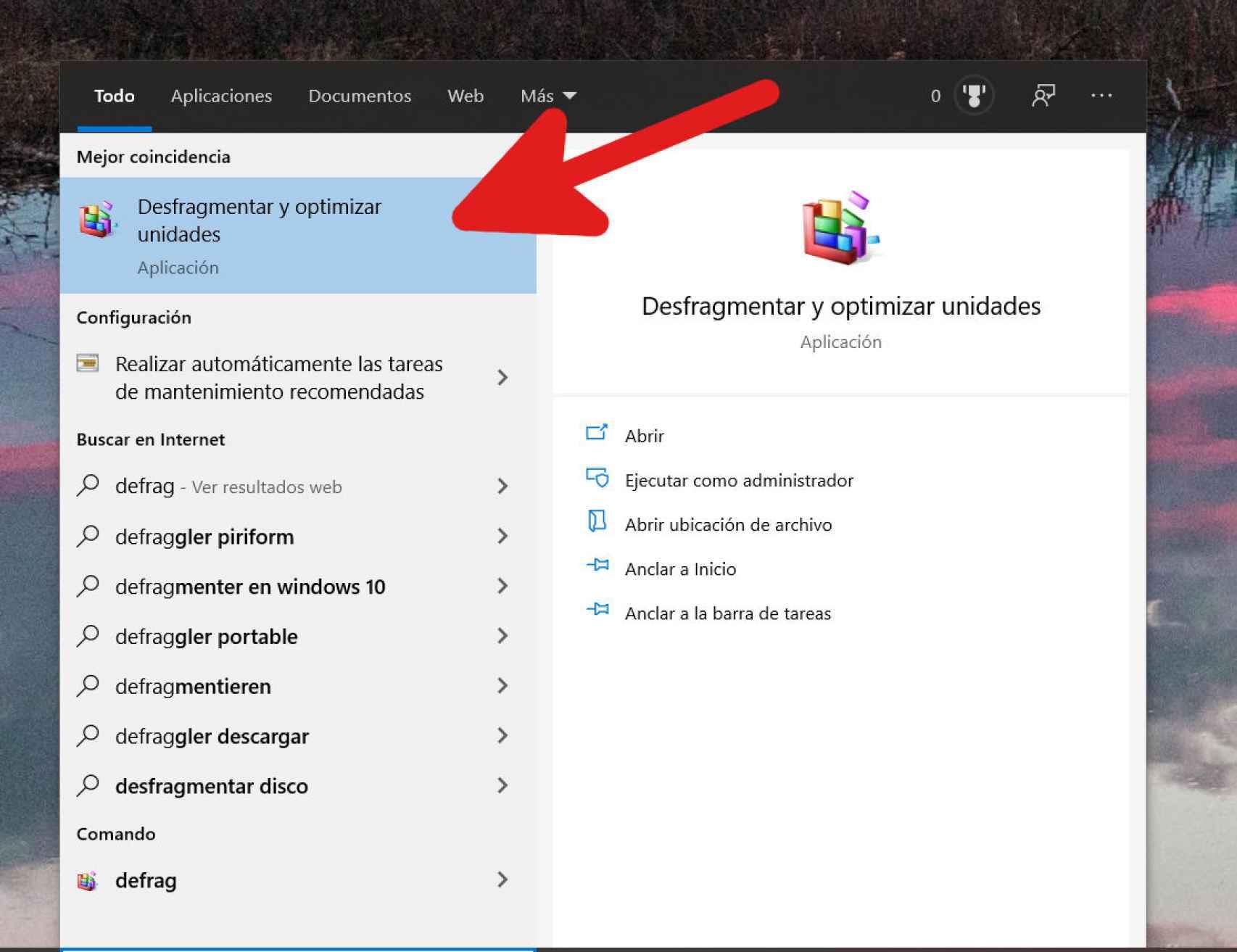 Cómo desactivar el mantenimiento de SSD en Windows 10