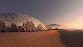 Proyecto de ciudad en Marte