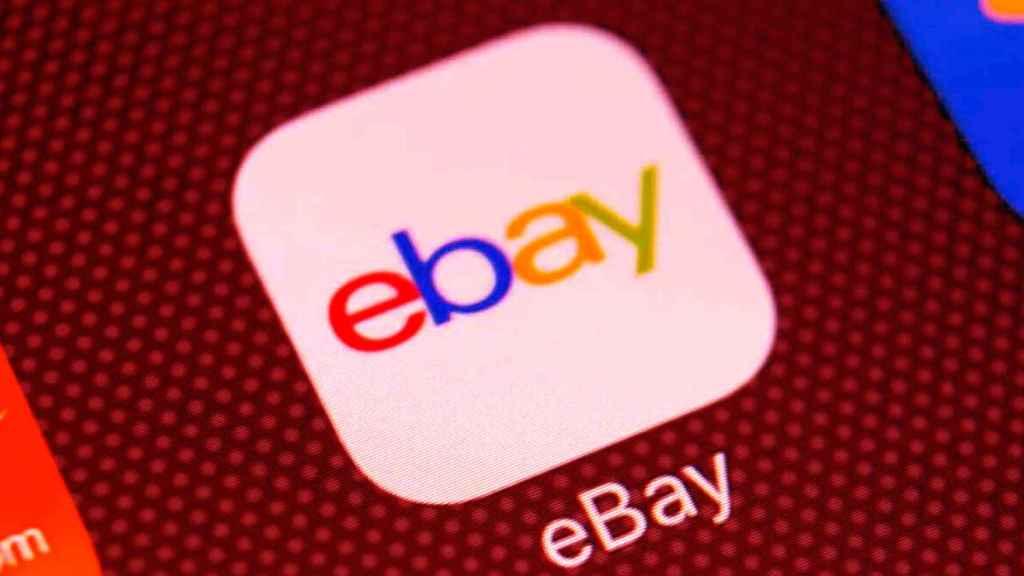 Logo de la app de eBay
