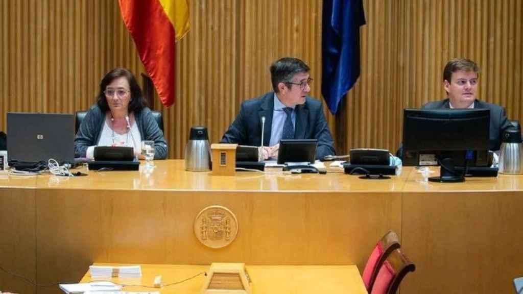 Cristina Herrero, presidenta de la AIReF, en el Congreso.
