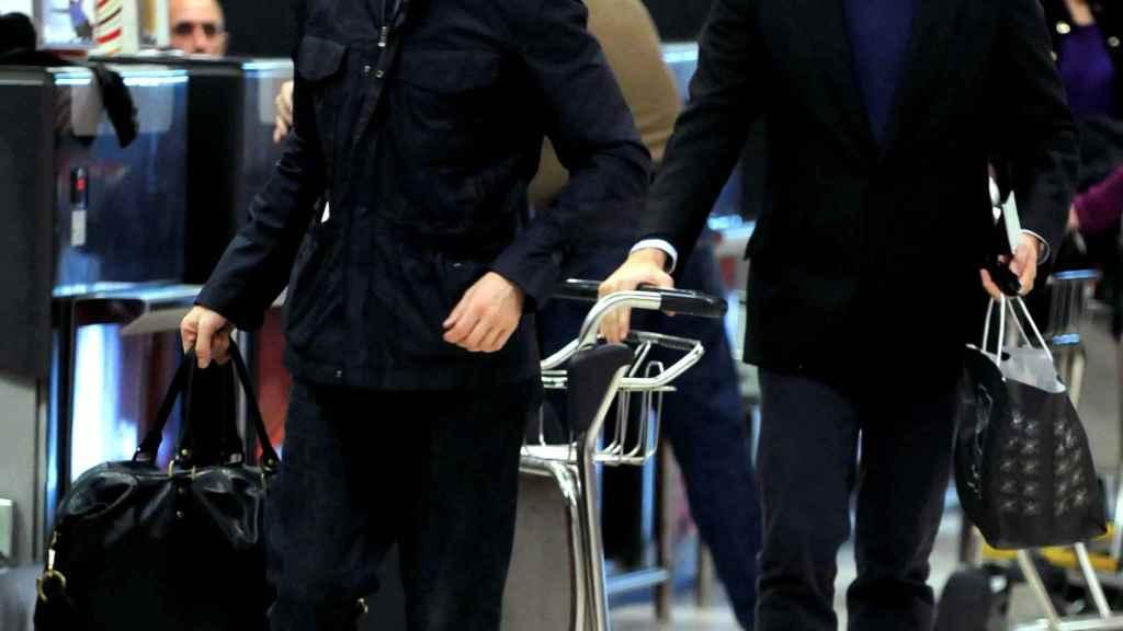 Boris y su marido Rubén Nogueira en una imagen de archivo.