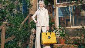 Jane Fonda, en su nueva campaña de Gucci.