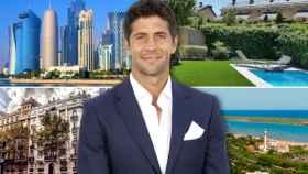Fernando Verdasco junto los destinos en los que posee una propiedad.