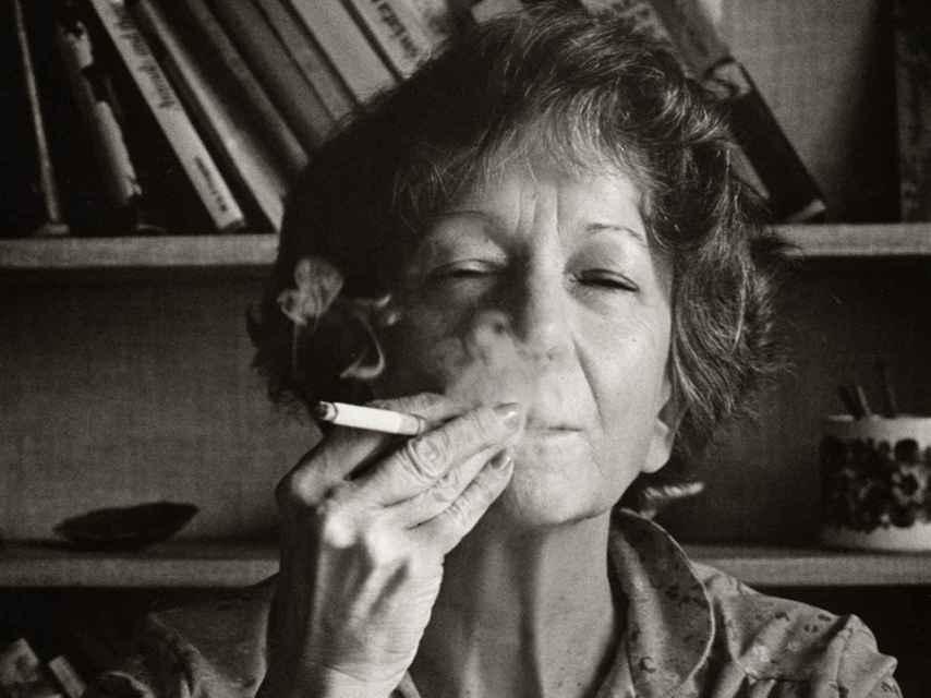 La poeta Wislawa Szymborska.