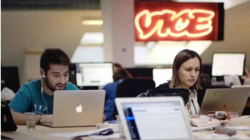 Imagen de archivo de la redacción de Vice.