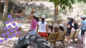 Imagen de archivo de un campamento de verano.