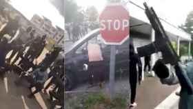 Los altercados se suceden sin control en las calles de Dijon