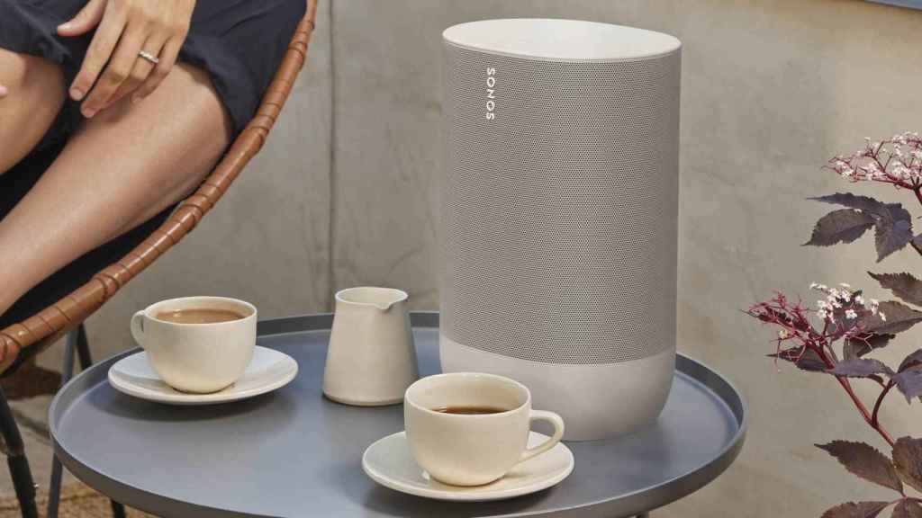 Sonos Move en blanco