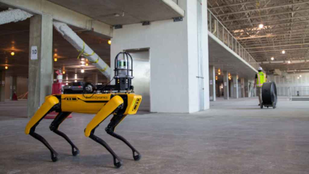 Construction is one of the possible uses of the Boston Dynamics Spot