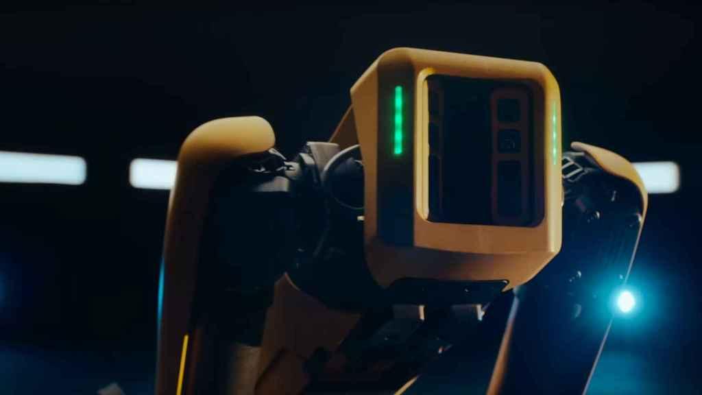 El perro robótico Spot de Boston Dynamics